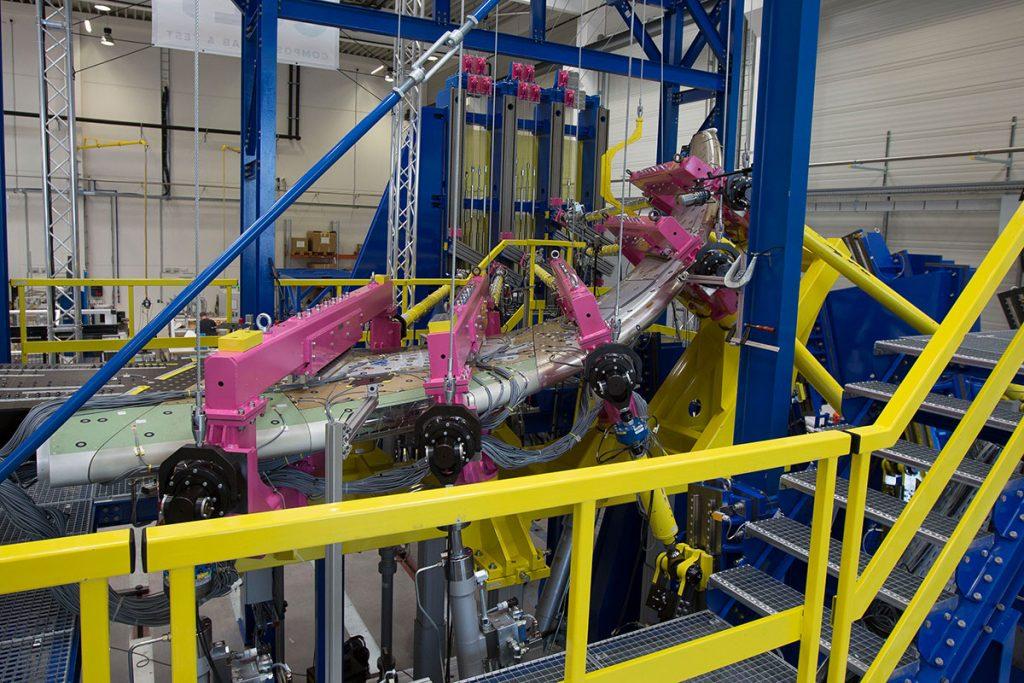 Testing A350-900XWB 3 CoLT Composite Lab & Test in St. Martin im Innkreis